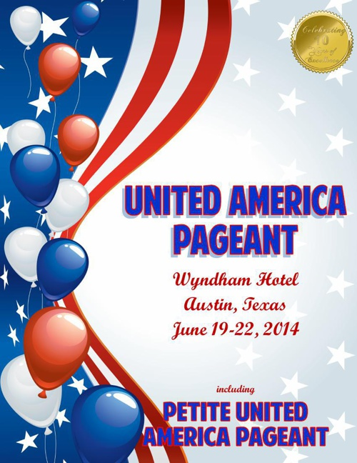 United America and Petite United America Pageant Program