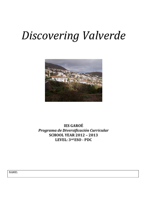 Discovering Valverde