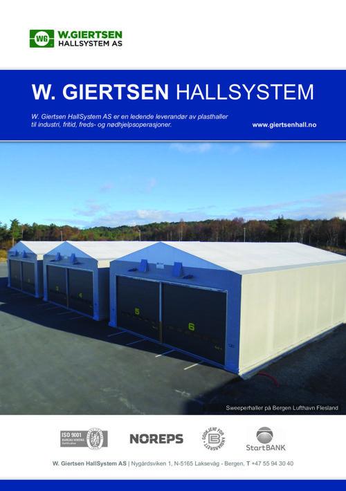 W. Giertsen Hallsystem - 2016