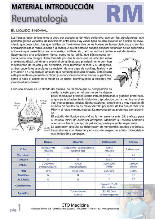 generalidades reuma CTO