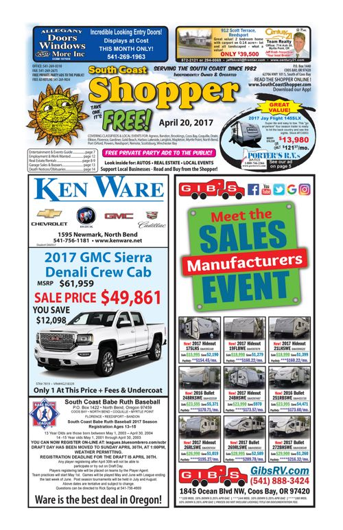 South Coast Shopper e-Edition 4-20-17