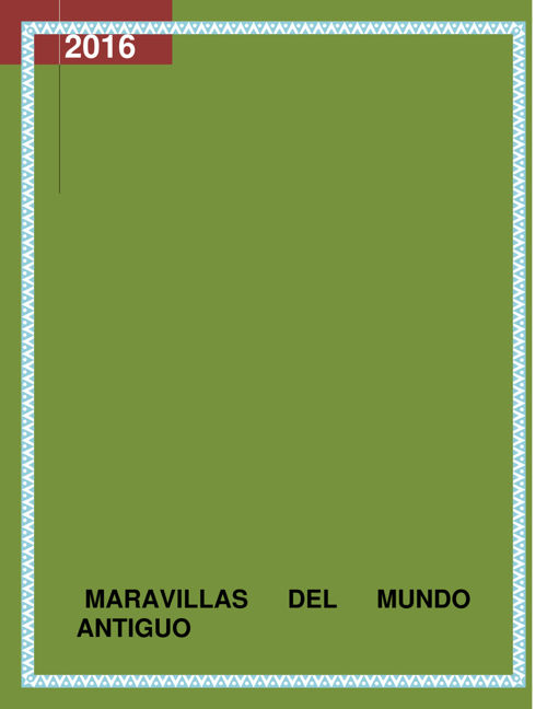 REVISTA MARAVILLAS