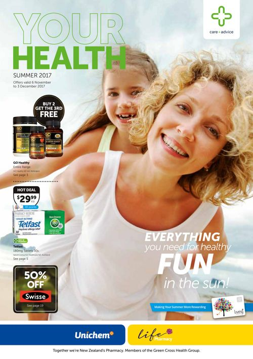 Your Health - Summer 2017 Unichem Pharmacy