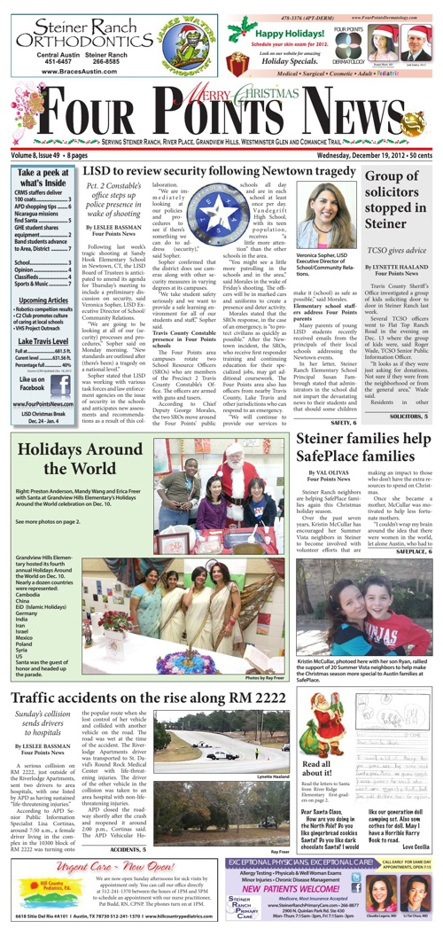 Four Points News December 19, 2012 Issue
