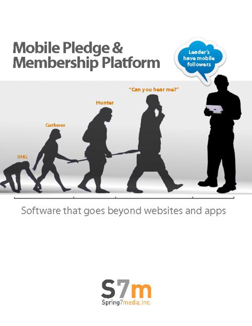 Mobile Donation Platform