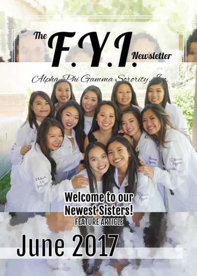 The F.Y.I. Newsletter - June 2017