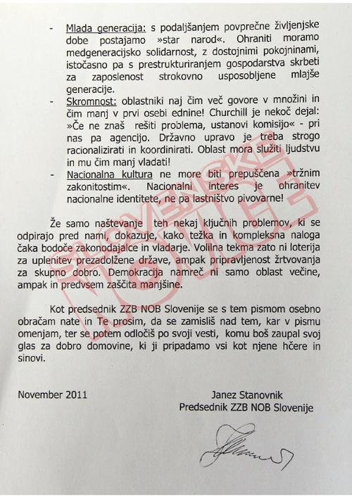 Pismo in poziv ZZB NOB 2 (slovenskenovice.si)