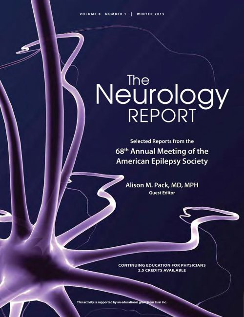 The Neurology Report, Winter 2015