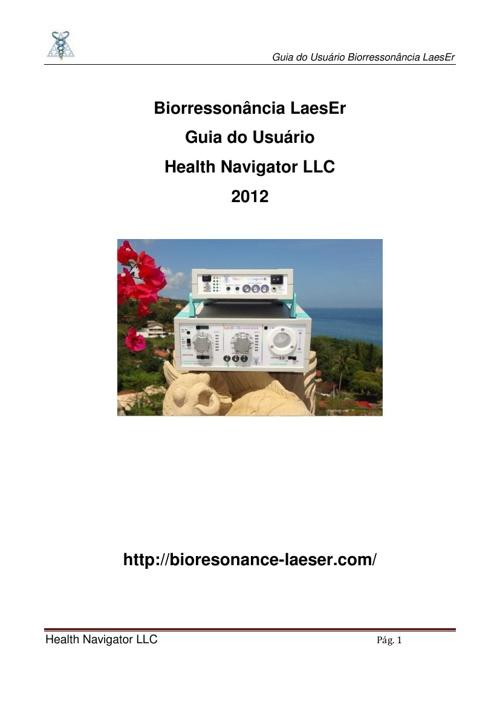 Bio-LaesEr Guia do Usuário