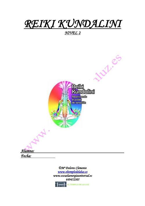 Manual Curso de Reiki Kundalini 2