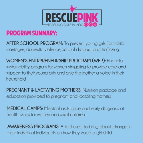 Rescue Pink Half Year Report 2017
