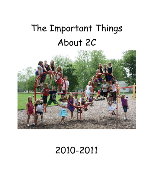 The Important Things About 2C