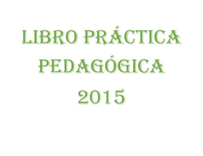 LIBRO PRÁCTICA PEDAGÓGICA