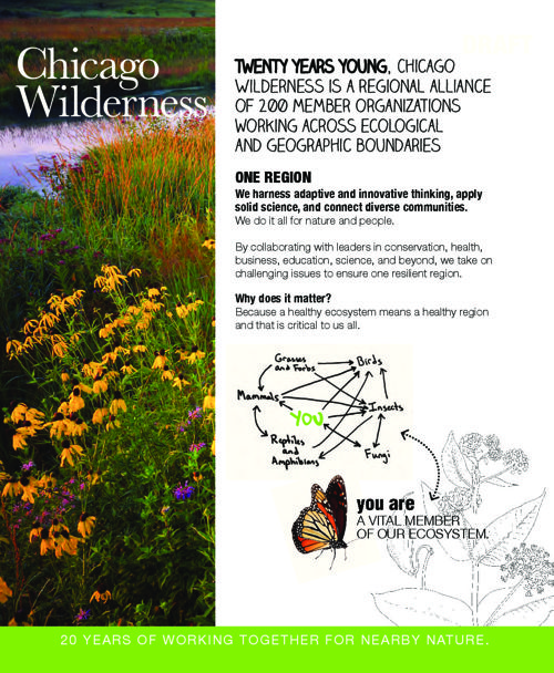 Chicago Wilderness 20th Anniversary: One Home