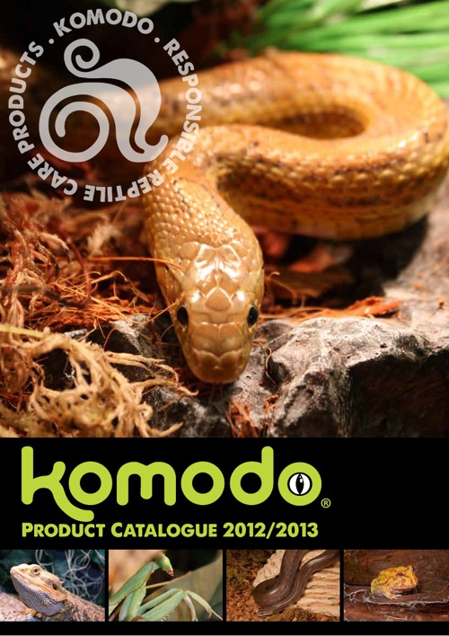 Komodo Reptile Products by Tiki Reptiles