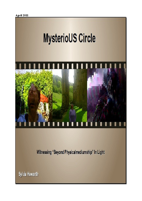 MYsterioUS Circle Apr 2011 Flip Book