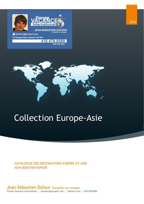 Collection Europe-Asie 2014