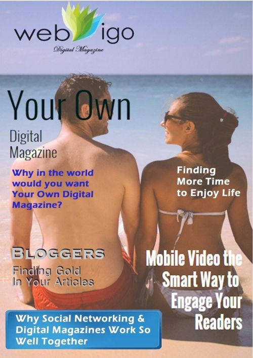 Get Your Own Digital Magazine Part 3
