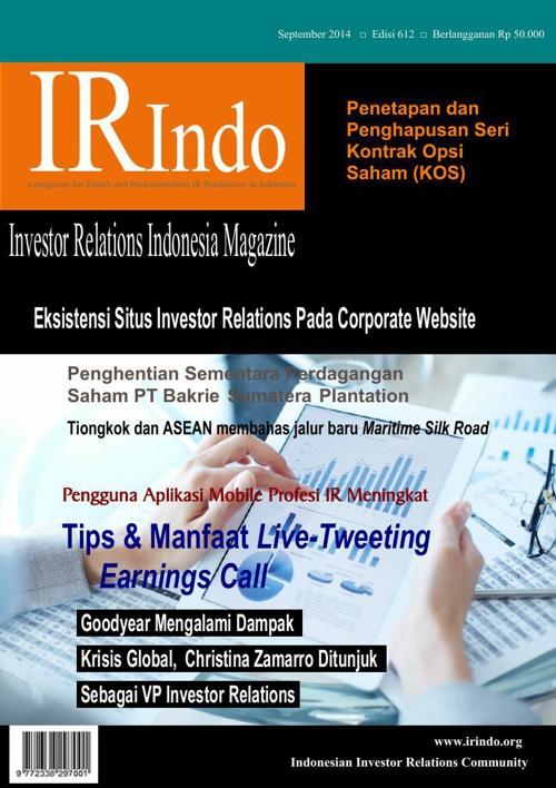 IR Indo Magazine September 2014