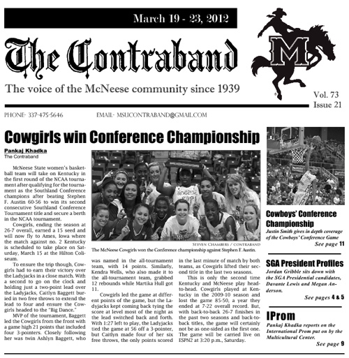 Contraband issue # 21