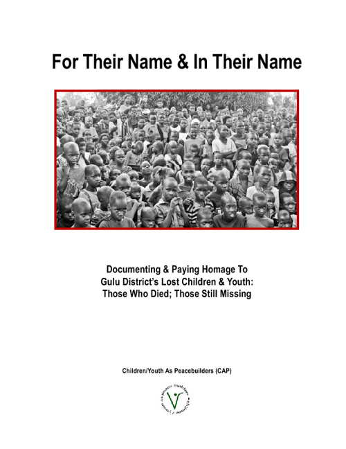 Copy of For Their Name & In Their Name