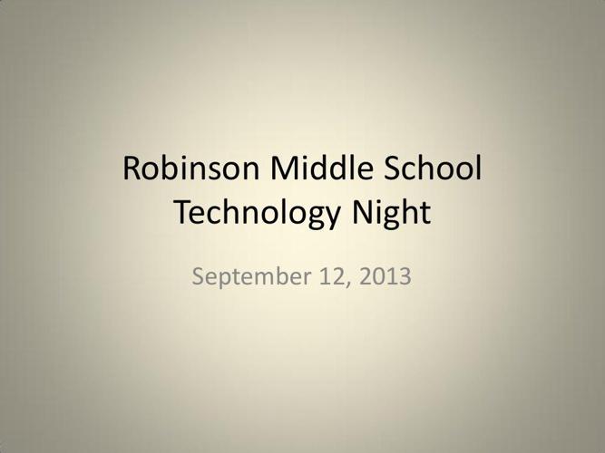 RNR Tech Vision Presentation 09122013