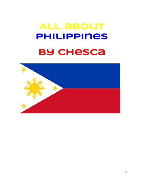 All About Philippines - Chesca