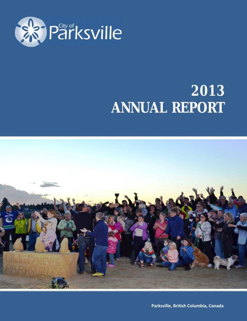 2013 Parksville Annual Report