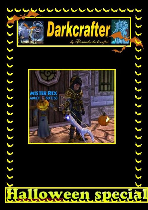 Darkcrafter halloween book