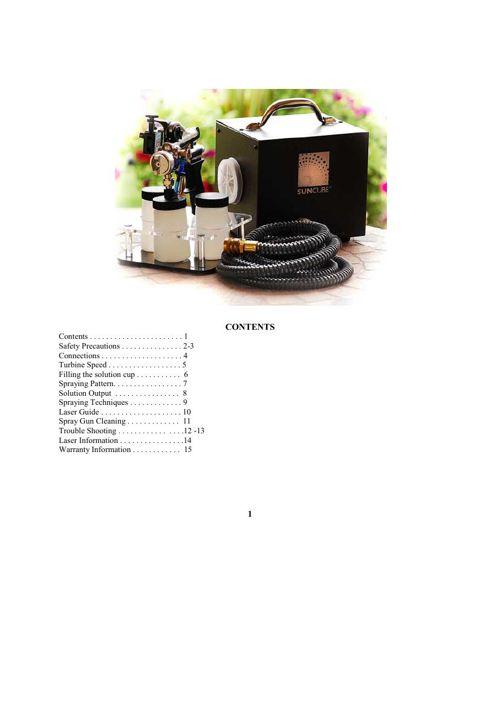 SUNCUBE 2010 Manual