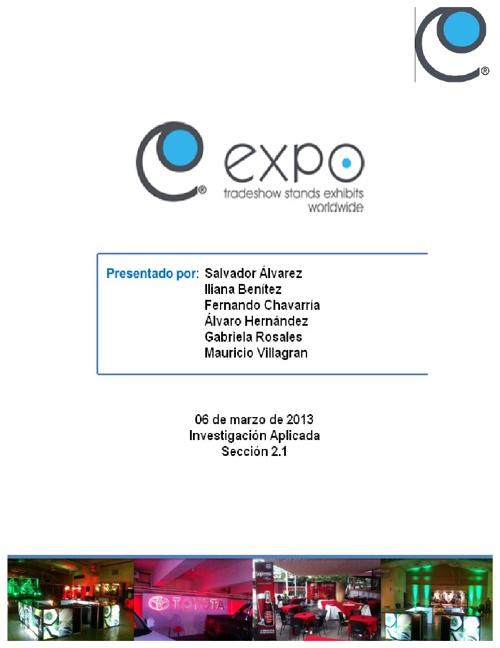 Auditoría de Imagen Expo El Salvador