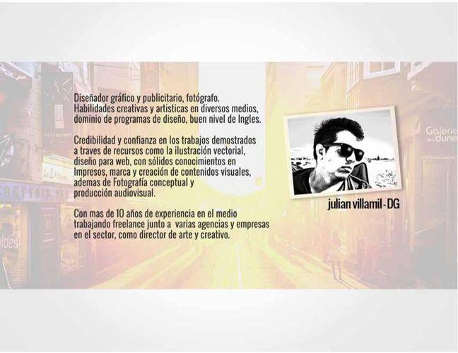 PORTAFOLIO DISEÑO  Julian Villamil