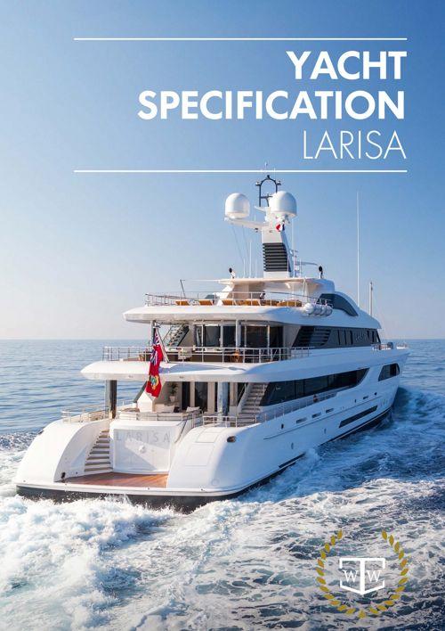 57.6m Feadship LARISA specification