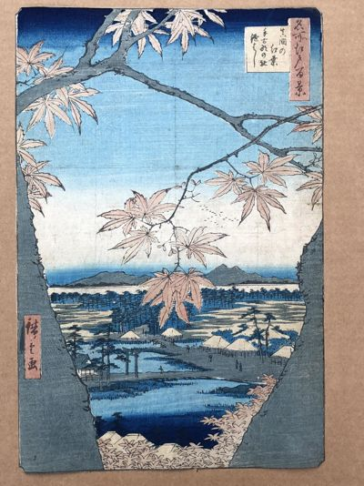 100 Views of Edo # 94 Deluxe Edition by Ando Hiroshige