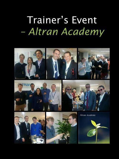 Trainer's Event - Altran Academy