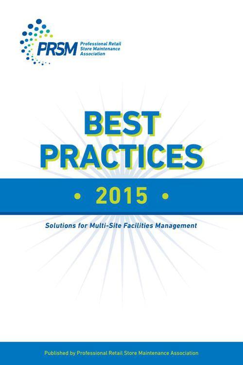 PRSM 2015 Best Practices Book