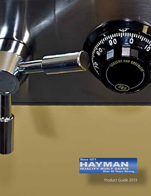 AiN Dealers HAYMAN Safe Catalog