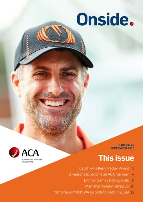 ACA Onside – September 2016 – Edition 42