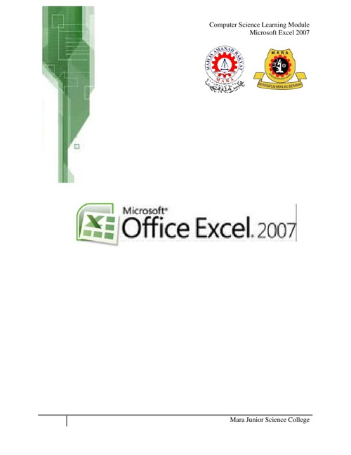 Module Microsoft Excel 2007