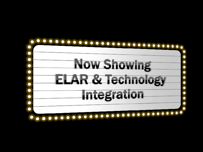 ELAR and the iPad
