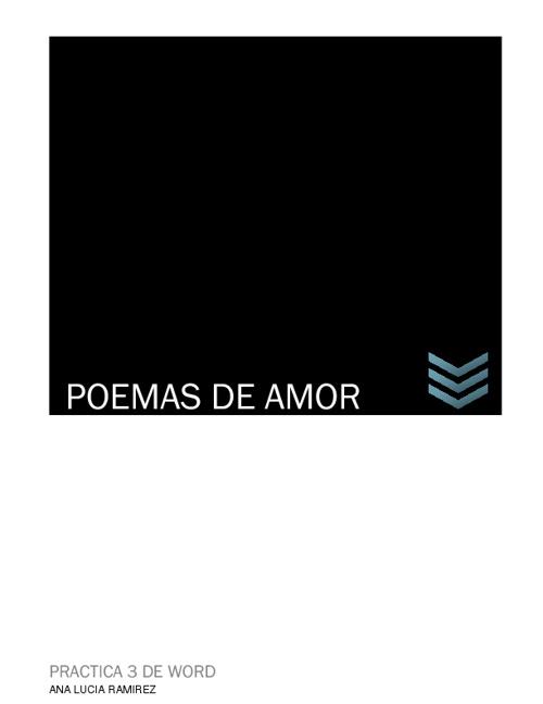 Poemas Ana Lucia