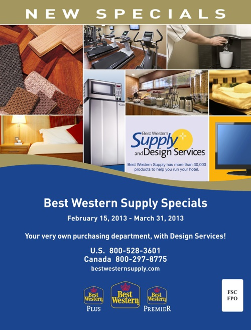 Best Western Supply Specials