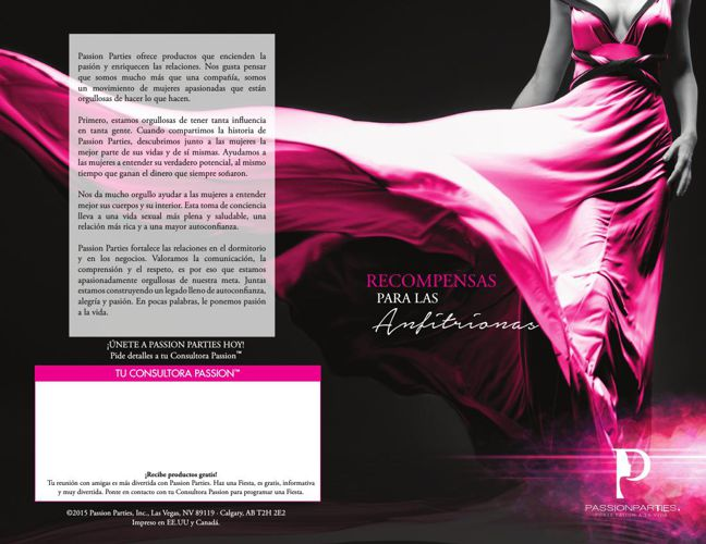 Spanish Hostess RewardsBrochure