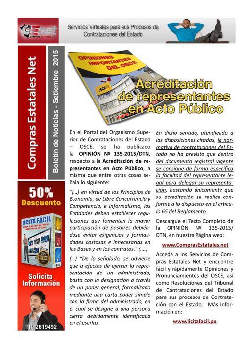 Boletines CENet - Compras Estatales Net