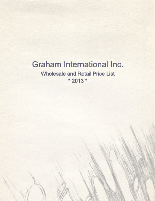 Graham Pricelist