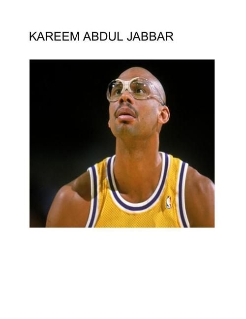 French Project Kareem Abdul Jabbar