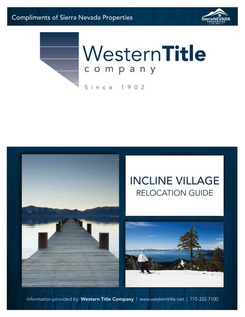 Incline Village Relocation Guide