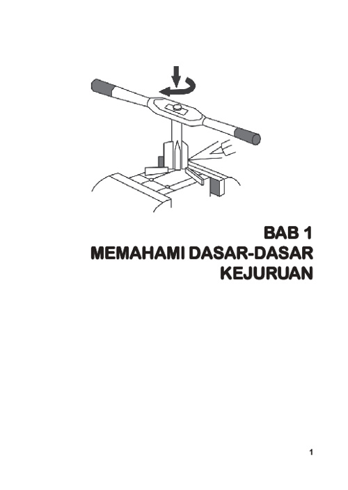 Memahami Dasar Kejuruan (PDTM)