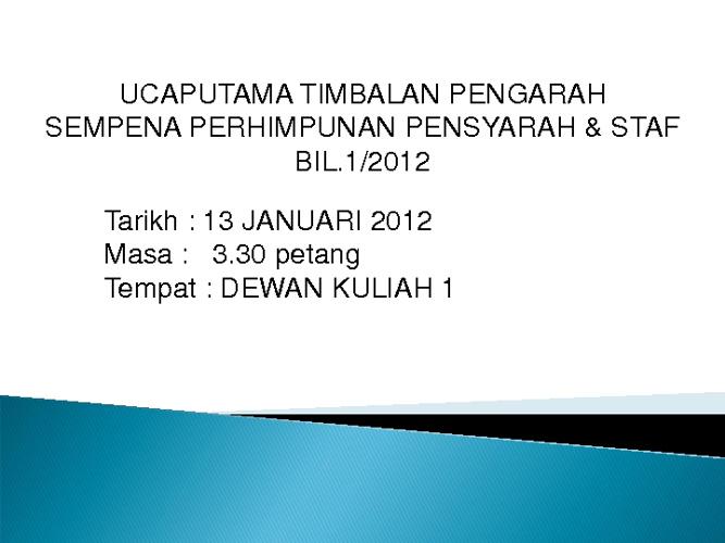 Buku Pengurusan Dan Pentadbiran 2012