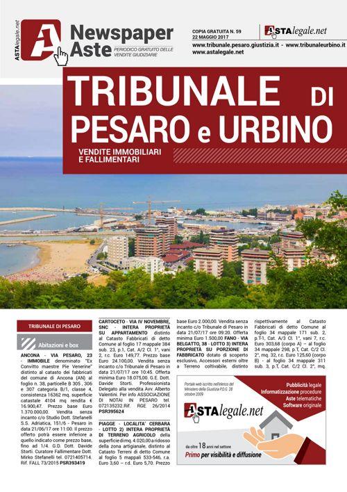 Pesaro Urbino maggio 2017